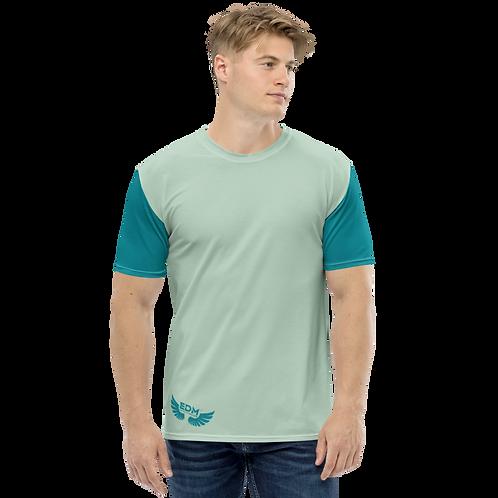 Men's T-shirt - Green Teal/Sage - EDM J to F Logo