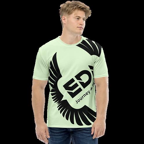 Men's T-shirt Mint - EDM Journey to Freedom Large Print - Black