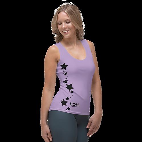 Women's Vest - EDM J to F Black Star - Purple