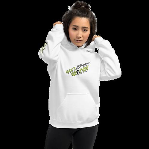 Women's Unisex Hoodie GS Music Academy - White
