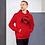 Thumbnail: Mens Unisex Hoodie EDM J to F DJ Headphone Black - Various
