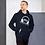 Thumbnail: Mens Unisex Hoodie EDM J to F DJ Headphones White - Various