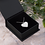 Thumbnail: Engraved Silver / Rose Gold Heart Necklace - 'I LOVE YOU'