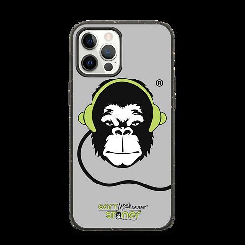 Biodegradable iphone case - GS Music Academy Ape DJ - Grey
