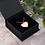 Thumbnail: Engraved Silver / Rose Gold Heart Necklace - 'SECRET LOVE'