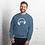 Thumbnail: Men's Sweatshirt - EDM J to F Headphones Sound bars - White / Various