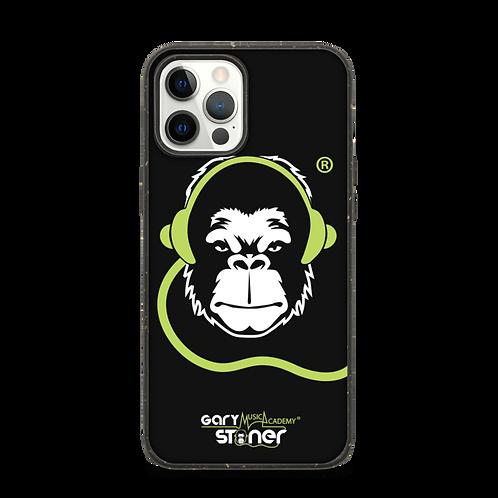 Biodegradable iphone case - GS Music Academy Ape DJ - Black