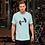 Thumbnail: Mens Unisex Fit T-Shirt - EDM Journey To Freedom Print Black - Various