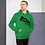 Thumbnail: Mens Unisex Hoodie EDM J to F Logo Black - Various