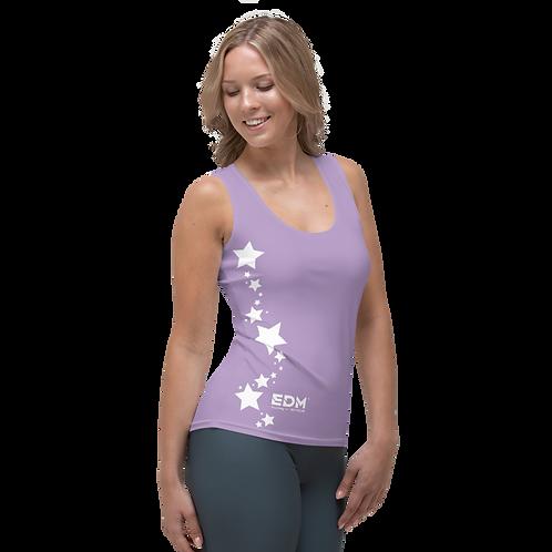 Women's Vest - EDM J to F White Star - Purple