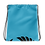 Thumbnail: Blue Drawstring Bag - EDM Journey to Freedom Large Print - Black