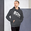 Thumbnail: Mens Unisex Hoodie EDM J to F Logo White - Various