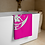 Thumbnail: Beach Towel / Towel - Unicorn Fairy Sage - Pink
