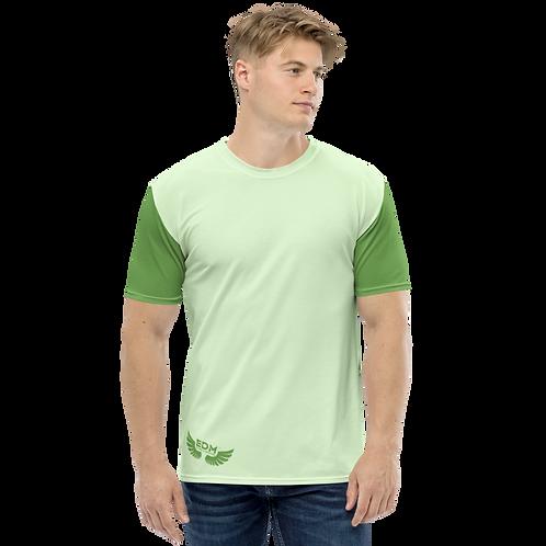 Men's T-shirt - Green/Mint - EDM J to F Logo