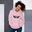 Thumbnail: Women's Unisex Hoodie EDM J to F Wings Logo Print Black - Various