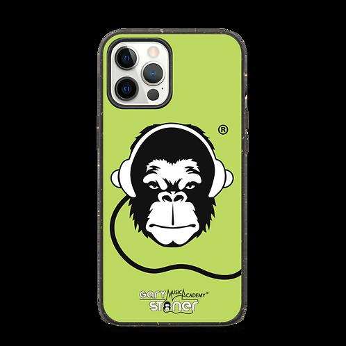 Biodegradable iphone case - GS Music Academy Ape DJ - Green