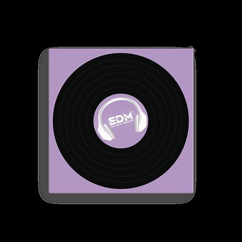 Square Canvas 12x12 / 16x16  - EDM J to F Record - Lilac