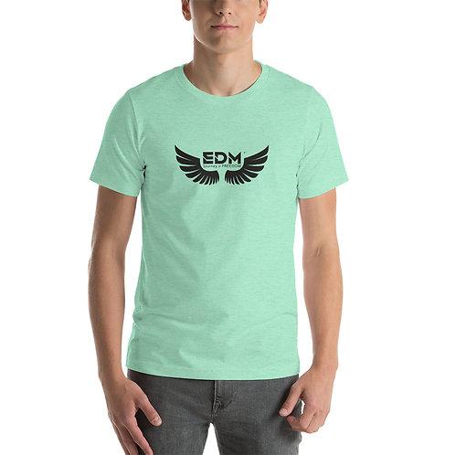 Various Short-Sleeve Mens T-Shirt - EDM Journey To Freedom Print Black