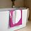 Thumbnail: Beach / Bath Towel - EDM J to F Headphones White - Dark Pink