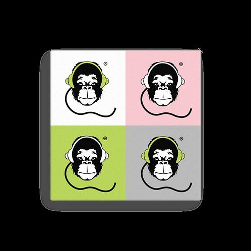 Square Canvas 12x12 / 16x16  - GS Music Academy Ape - All colours