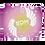 Thumbnail: Fleece Throw Blanket-50 x 60cm-EDM J to F Swirl Design-Purple/Yellow/White