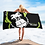 Thumbnail: Beach Towel / Towel - GS Music Academy Ape DJ Green - Black