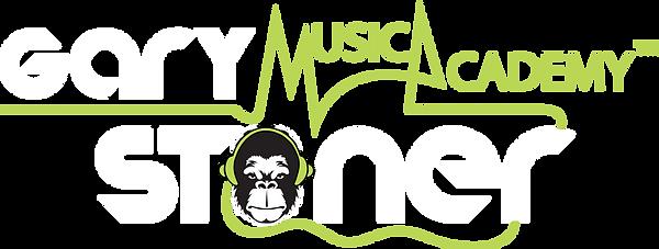 Gary Stoner music academy White outline