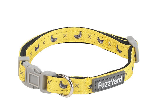 Fuzzyard Monkey Mania Dog Collar - Small