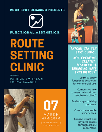 Route Setting Clinic