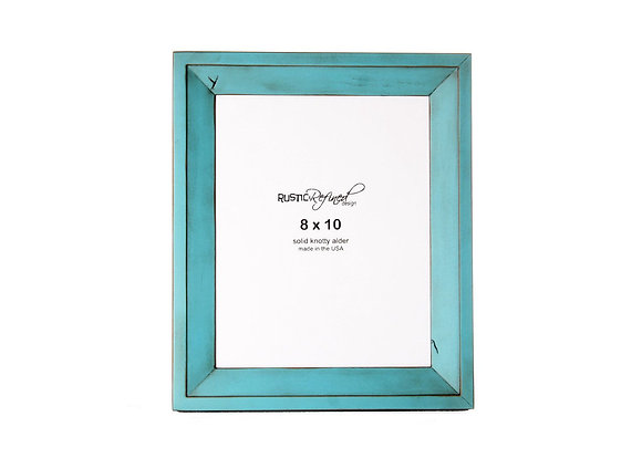 8x10 Haven picture frame - Turquoise