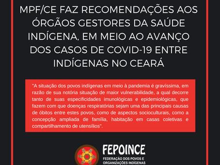 MPF/CE faz recomendações aos órgãos gestores da saúde indígena