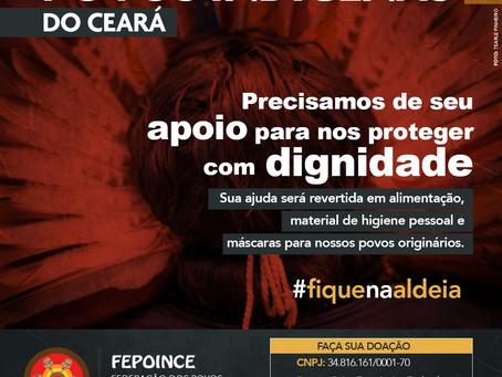 Apoie os Povos Indígenas do Ceará