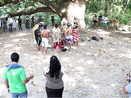 Após cinco anos de paralisação, o povo Pitaguary voltou a realizar a tradicional Festa da Mangueira