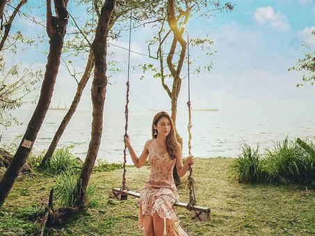 Tell the friend who you want to visit this secret swing with!