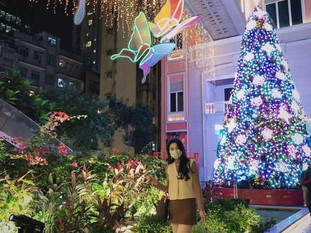 享受香港冬日燈飾🎄To enjoy Christmas lights in HK