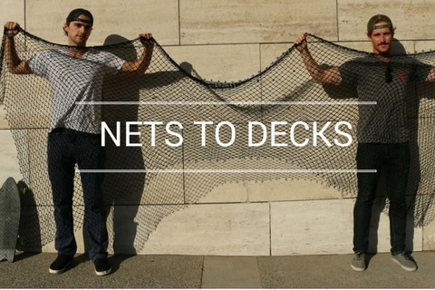 從漁網到滑板