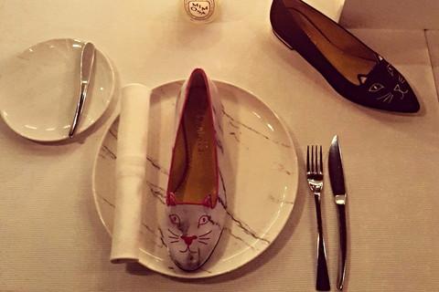 時尚名媛的鞋履異想