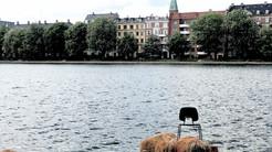 湖面上的椅子