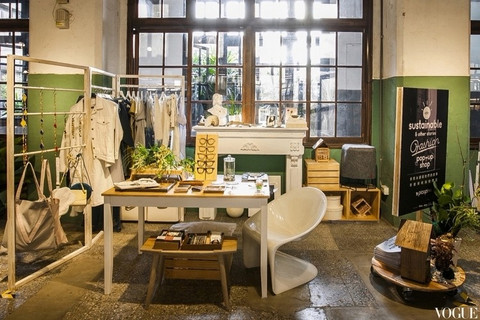 Vogue Taiwan 網站 I「綠色」將是下一個經典而永續的黑色!「零廢棄時尚」picupi快閃台北松菸,玩轉環保、創意與設計