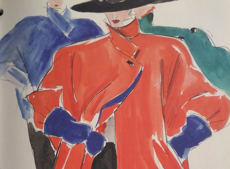Karl Lagerfeld 提醒勿忘草圖之美
