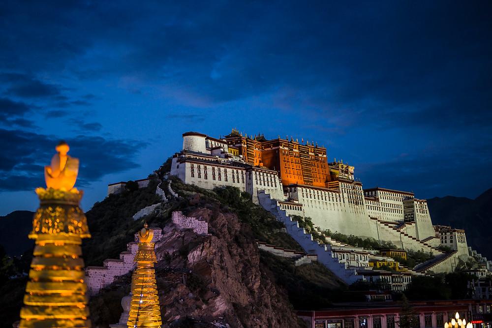 Potala palace, the home of Dalai Lama