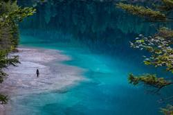 The lake of crystal