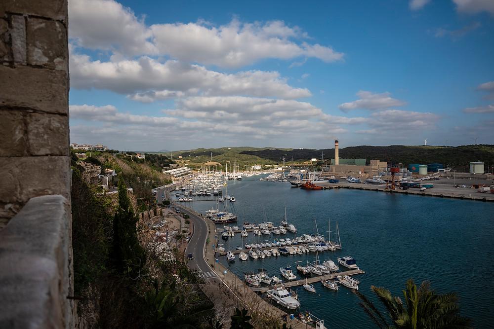il porto di Mahon