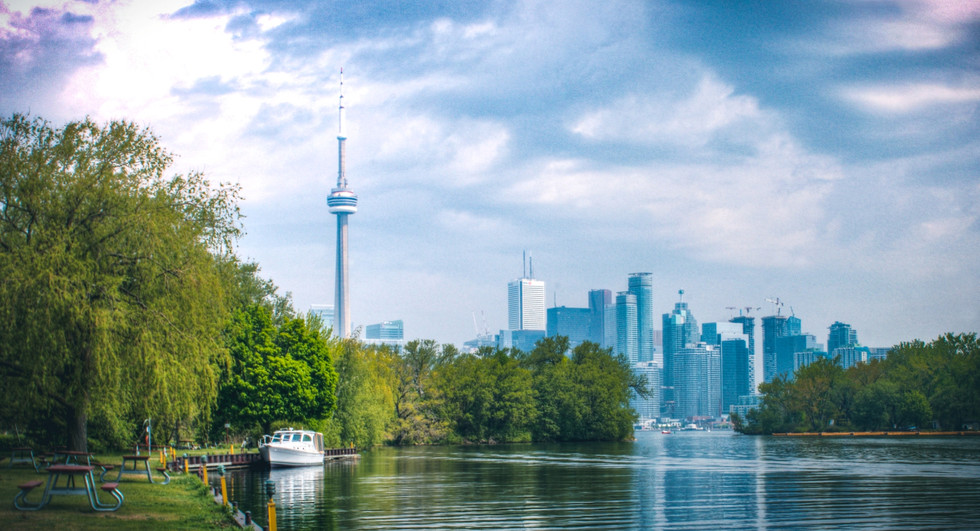 Toronto from the Island - Canada