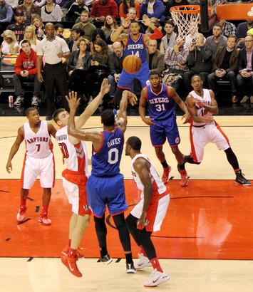 Raptors v. Sixers - NBA