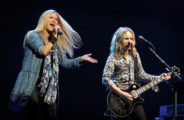 Sass Jordan with Tommy Shaw - Styx
