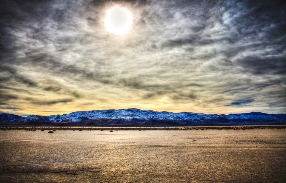 Desolation - Delamar Dry Lakebed, Nevada, USA