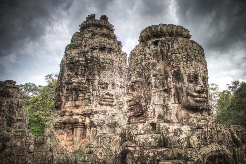 The Faces of Bayon - Cambodia