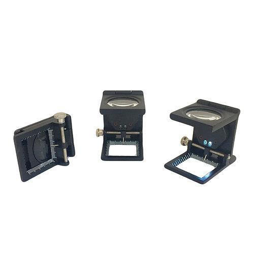 (CHP-25-LED) Cuentahilos Metálico 25mm con Luz LED Integrada