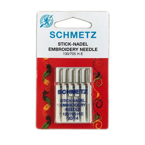 Aguja para bordado Schmetz
